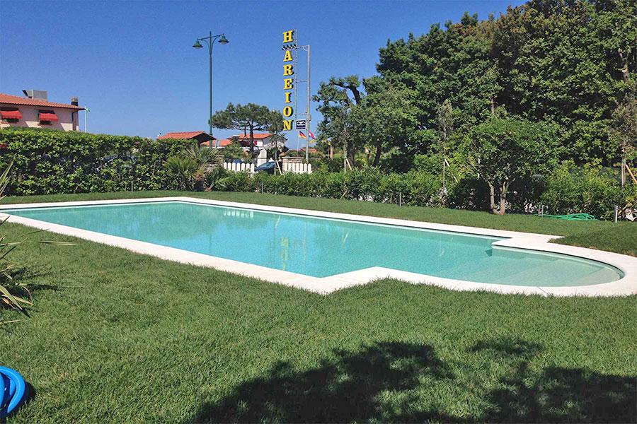 Piscina hotel Areion, hotel a Forte Dei Marmi