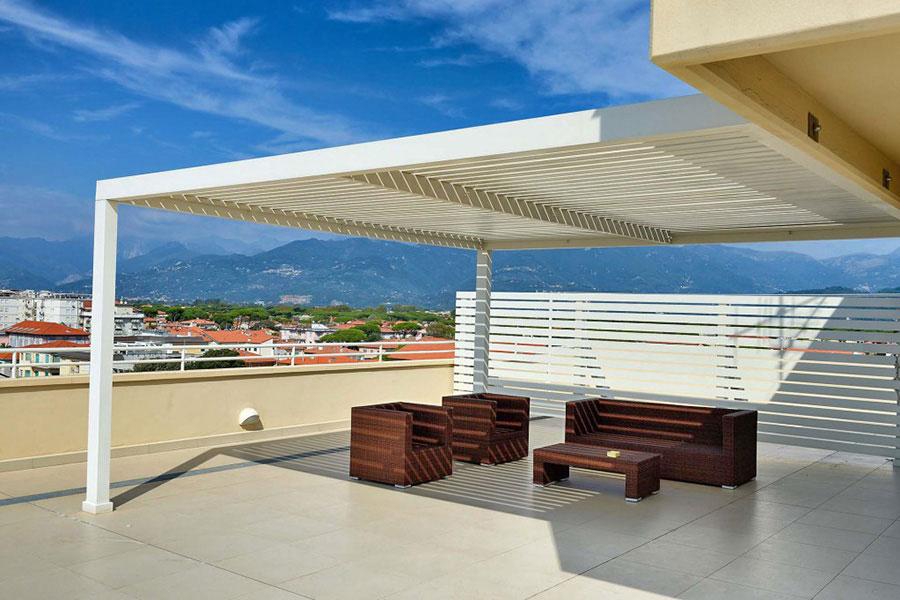 Hotel a Lido di Camaiore, terrazza Hotel Capri&Residence