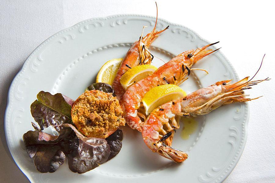 hotel a lido di Camaiore, secondo piatto di mare hotel Giulia