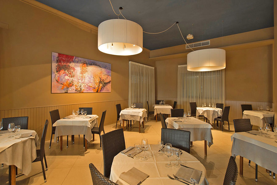 hotel a lido di Camaiore, sala da pranzo hotel Giulia