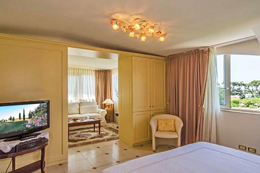 Hotel a Forte dei Marmi, suite hotel Kyrton