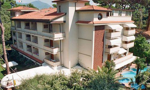 Hotel a Forte Dei Marmi, vista dall'alto Hotel Kyrton